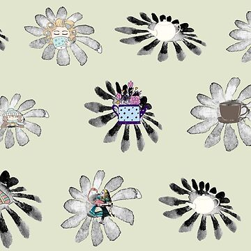 flower pattern by jackpoint23