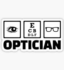 Optician Sticker