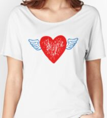 Heart For Valentine Day Women's Relaxed Fit T-Shirt