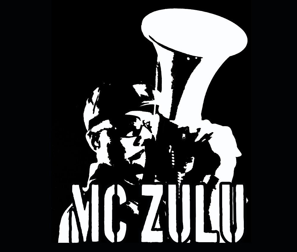 MC ZULU (Logo Print) by mczulu
