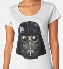 Gas Mask Japanese Shogun Style Women's Premium T-Shirt