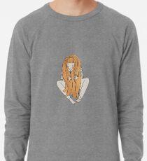 Red hair girl Lightweight Sweatshirt