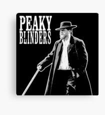 Peaky Blinders - Alfie Solomons Canvas Print