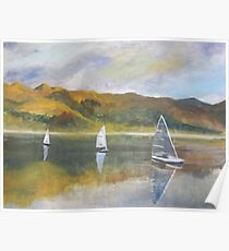 Sailing home from Attadale Poster