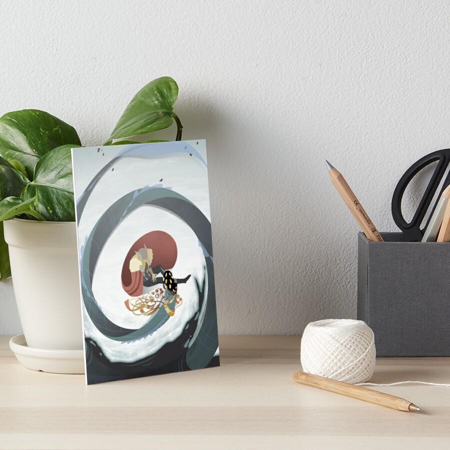 Mer Jotun 3 Art Board Print