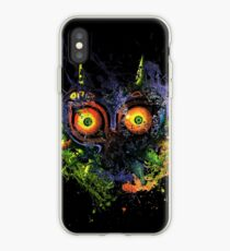 Majora's Mask Paint Splatter iPhone Case