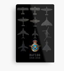 RAF100 1918-2018 Metal Print