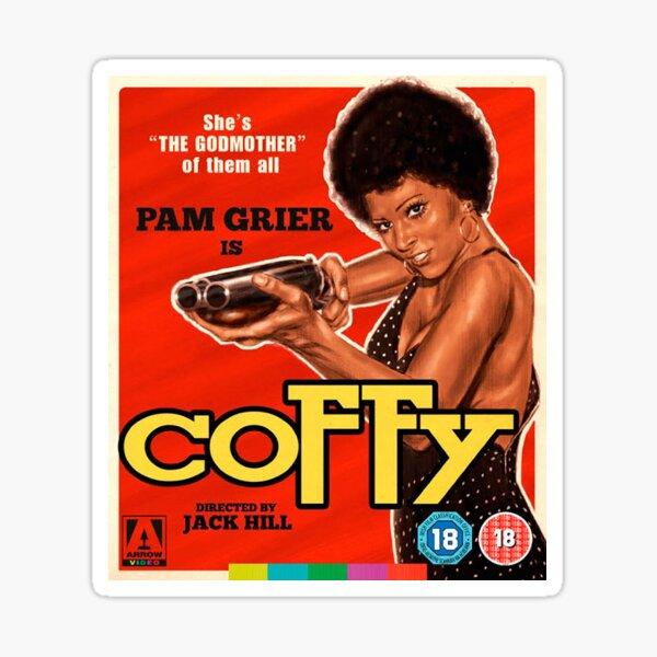 Coffy - Arrow Video Sticker