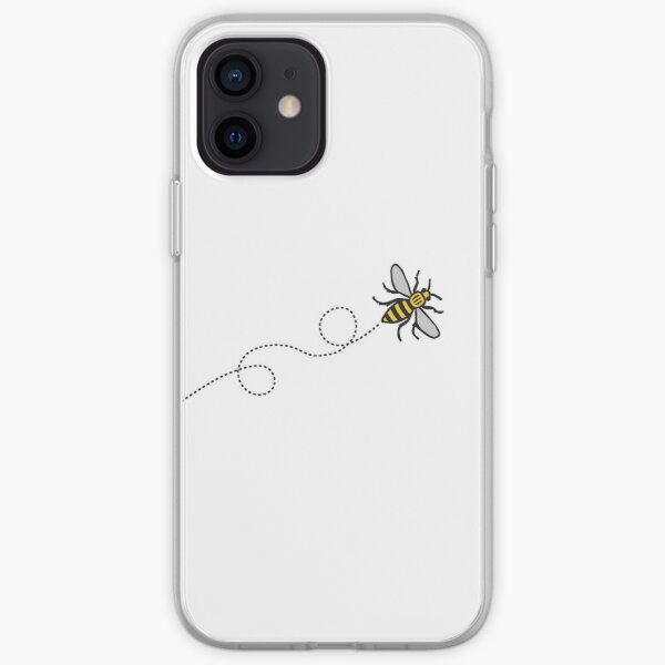Flying Manchester Bee, Classic Edition iPhone Soft Case