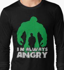 Ich bin immer wütend! Langarmshirt