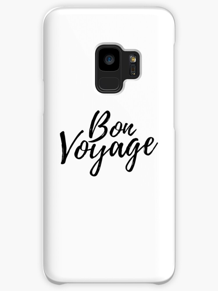 Bon Voyage French Quote Cases Skins For Samsung Galaxy By Adele