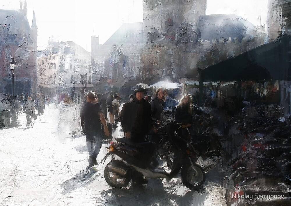 Tourist morning by Nikolay Semyonov