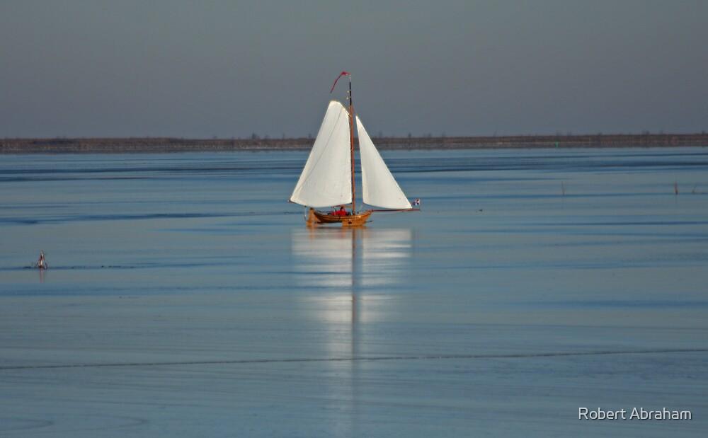 Ice Sailing by Robert Abraham