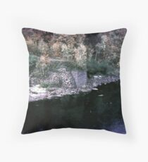 Fishing,Ottawa River,1954 Throw Pillow