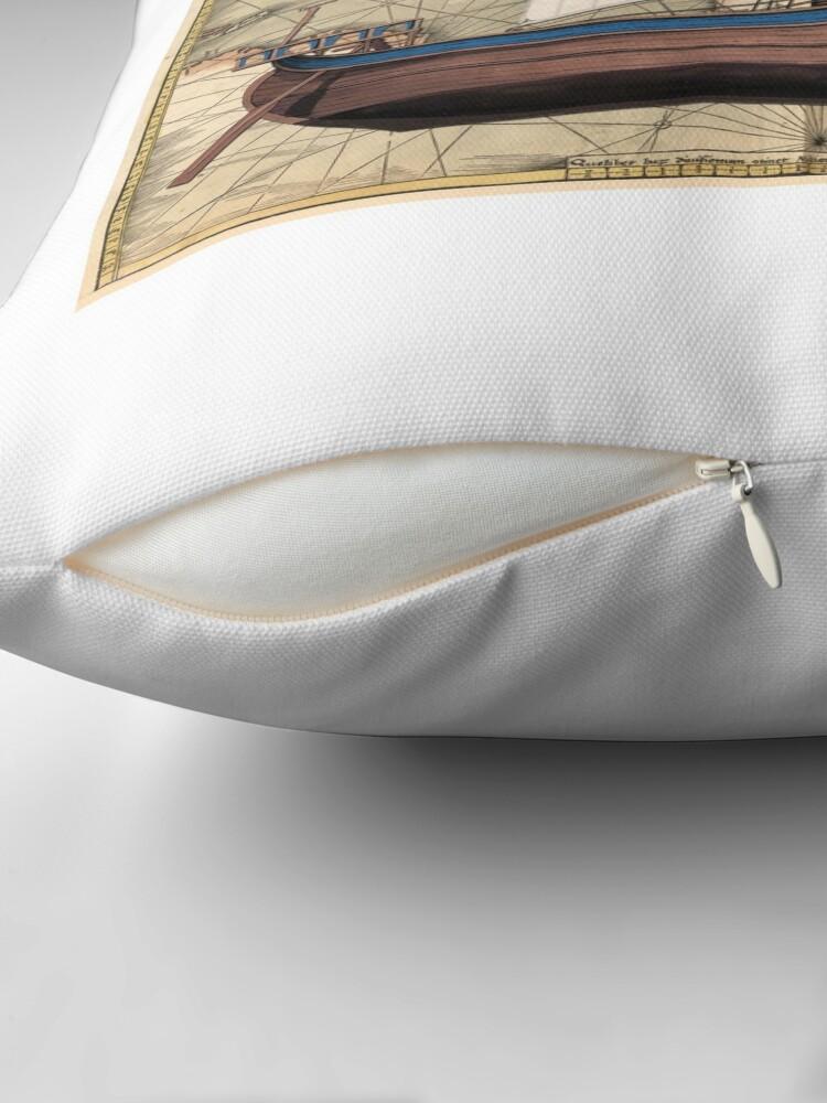 Alternate view of Potscard - Trade Nava Throw Pillow