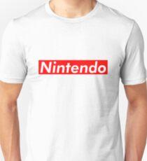 Nintendo Supreme Box Logo Parody Unisex T-Shirt