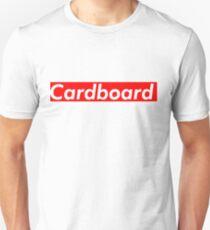 Cardboard Supreme Box Logo Parody Unisex T-Shirt