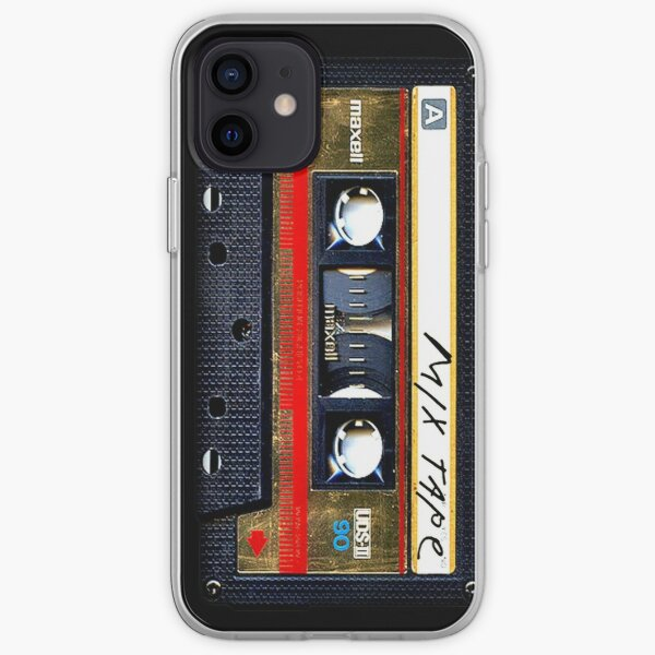 Gold Mix cassette tape iPhone Soft Case