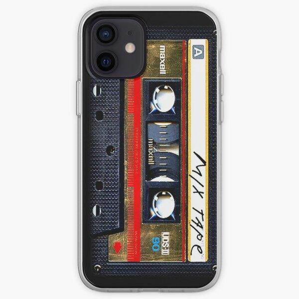 Cassette audio Gold Mix Coque souple iPhone