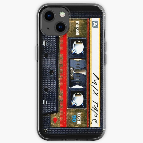 Gold Mix cassette tape iPhone Soft Case