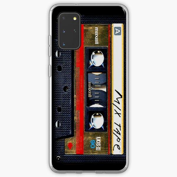 Gold Mix Kassette Samsung Galaxy Flexible Hülle
