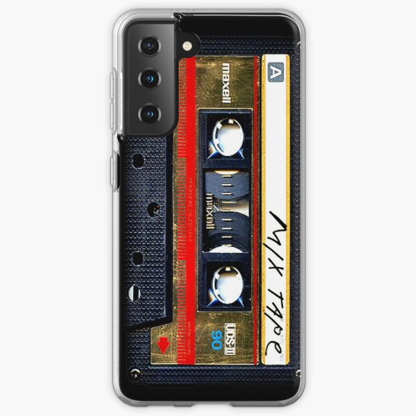 Gold Mix cassette tape Samsung Galaxy Soft Case