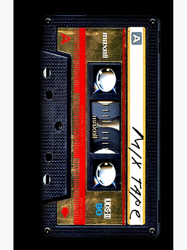 Gold Mix cassette tape by GalihArt