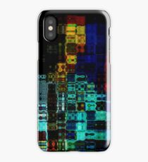 Psychedelic Cityscape iPhone Case/Skin