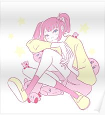 Kirby girl Poster
