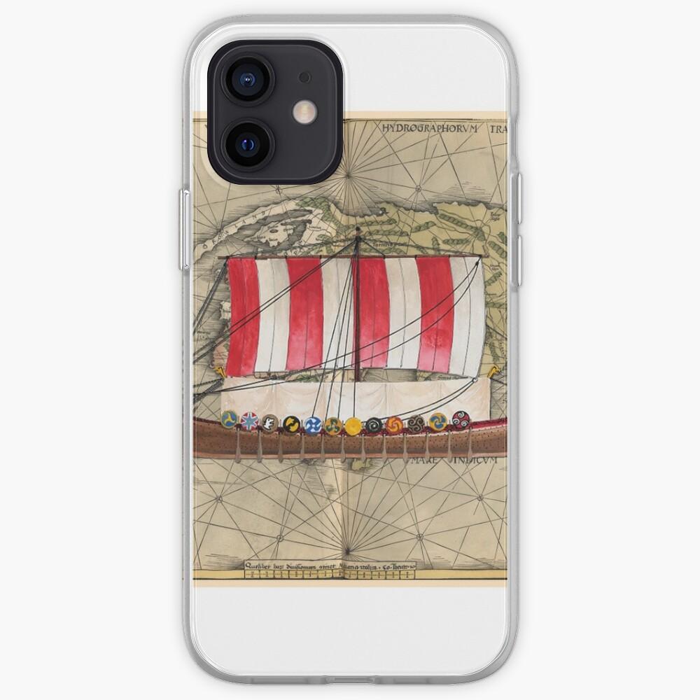 Postcard - Drakkar iPhone Case & Cover