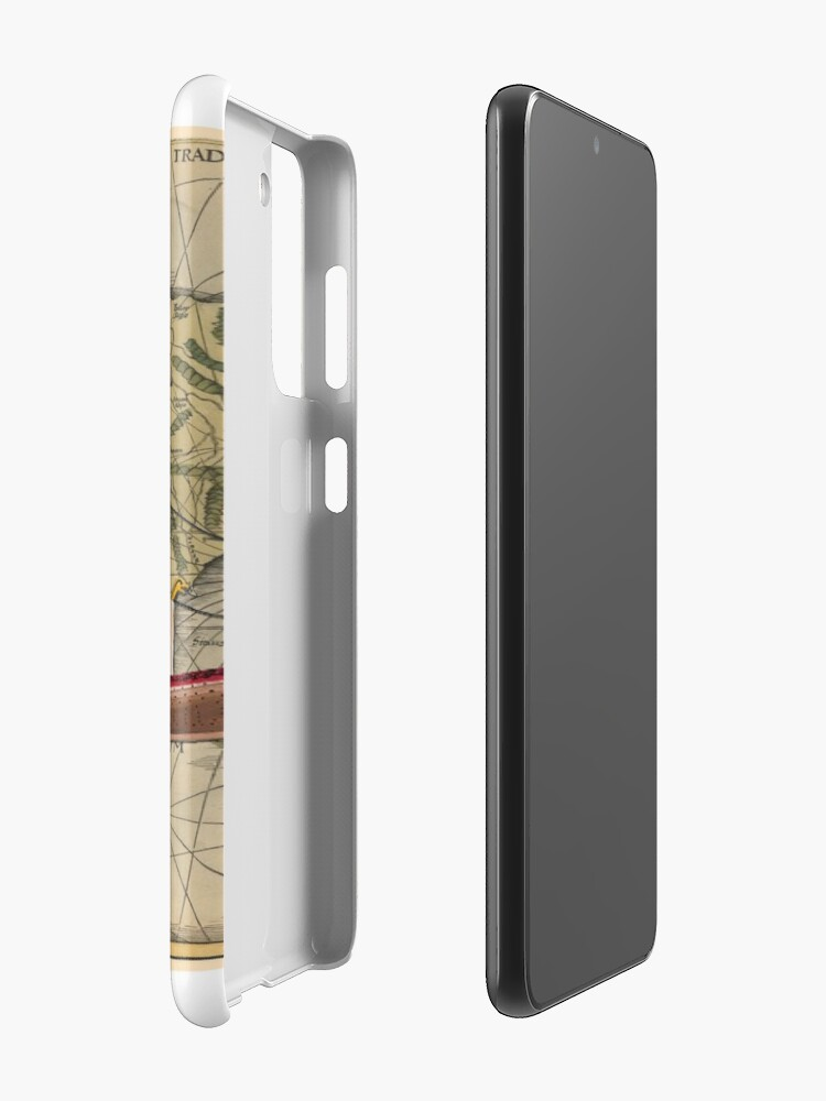 Alternate view of Postcard - Drakkar Case & Skin for Samsung Galaxy