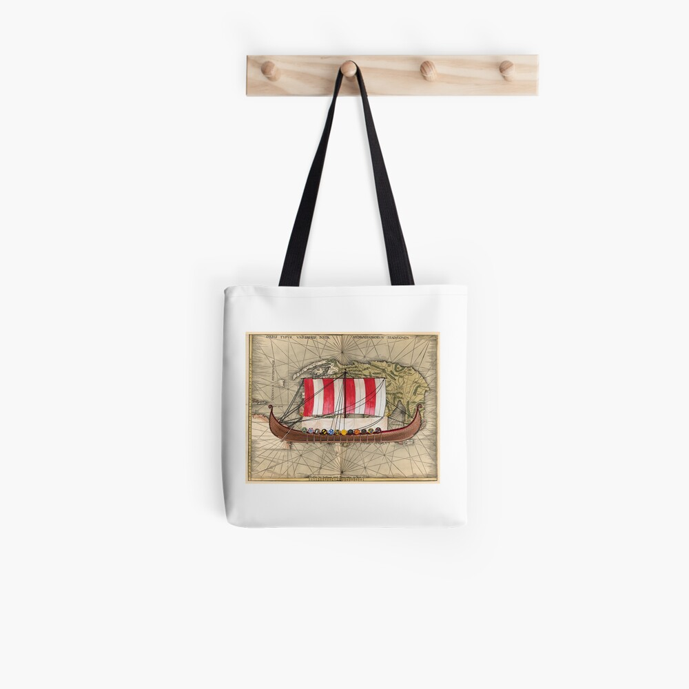 Postcard - Drakkar Tote Bag