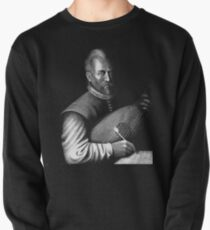 John Dowland with Lute Pullover