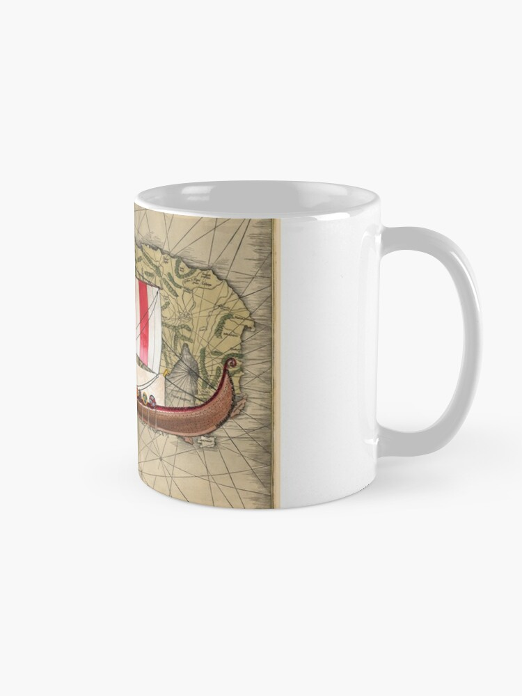 Alternate view of Postcard - Drakkar Mug