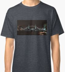 Tower Bridge and SS Belfast Classic T-Shirt