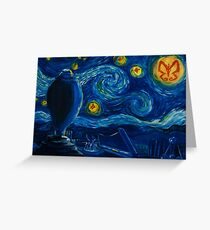Venture Bros. Starry Night Greeting Card