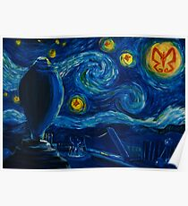 Venture Bros. Starry Night Poster