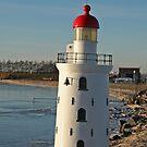 Miniature Lighthouse by Robert Abraham