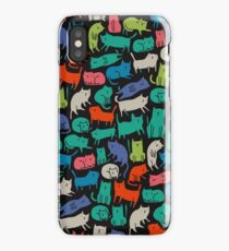 Cool Cats iPhone XS Case