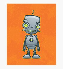 Silly Robot Photographic Print