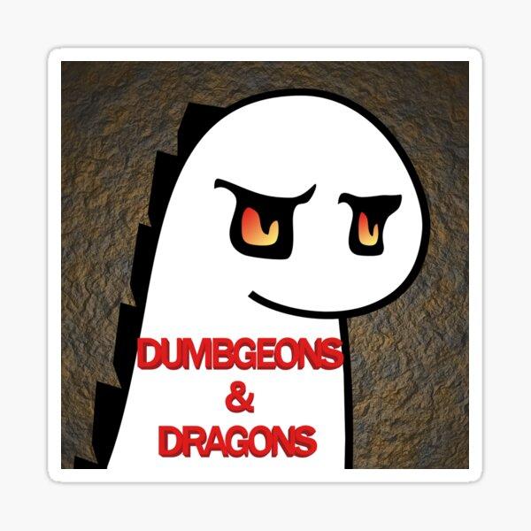 Dumbgeons & Dragons - Season 01 Sticker