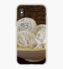 Paper and thread iPhone Case