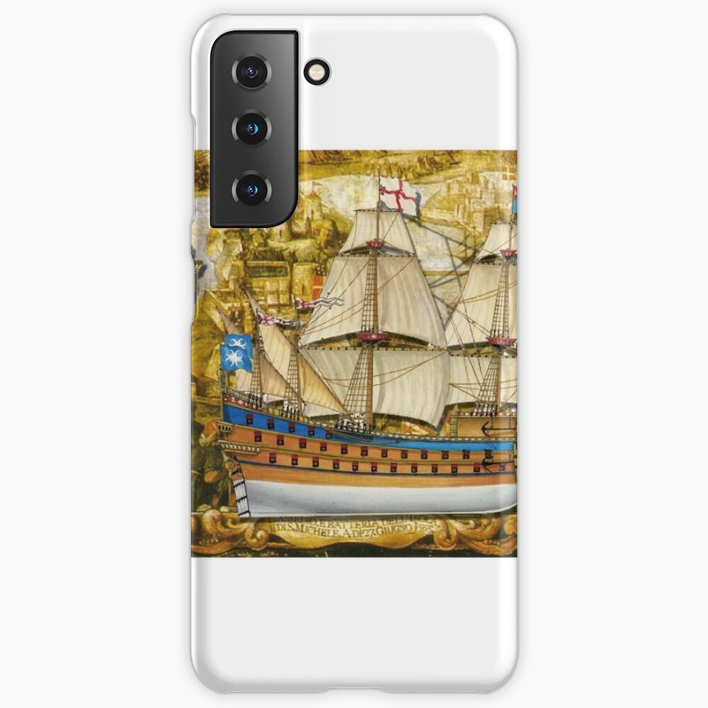 Postcard - Great Carrack Case & Skin for Samsung Galaxy