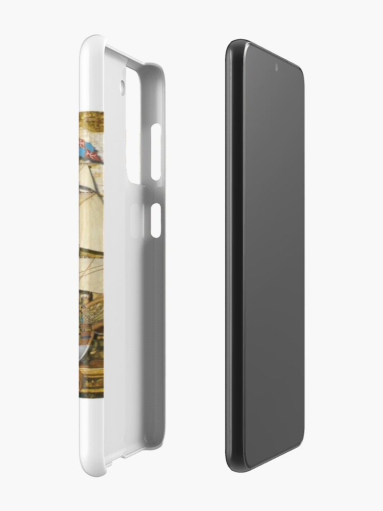 Alternate view of Postcard - Great Carrack Case & Skin for Samsung Galaxy