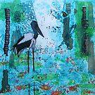 Jabiru Wetlands by Wendy Sinclair