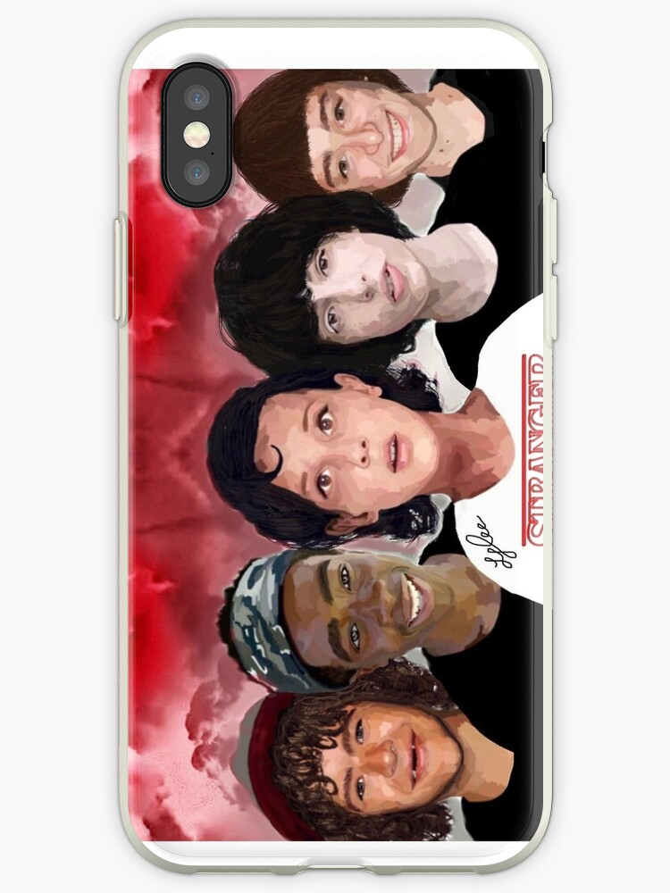 quite nice b7e4e 60164 'Digitally painted Stranger Things phone case' iPhone Case by LMEddie