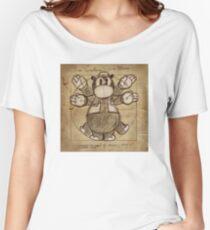 Horus Hippoptumus Amphibius Vitruvian Relaxed Fit T-Shirt