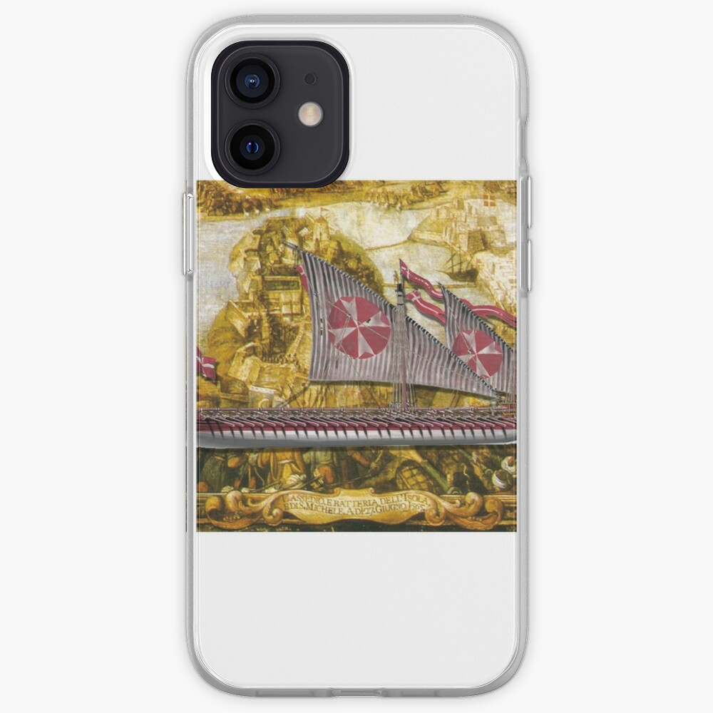 Postcard - Maltese Knights Galley iPhone Case & Cover