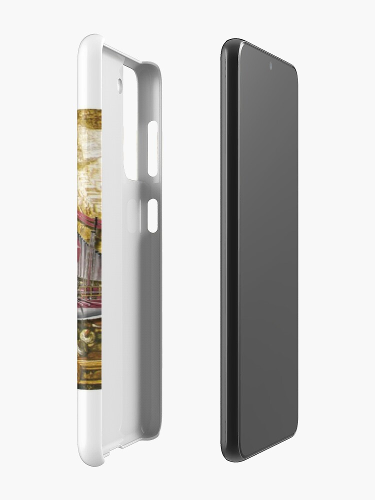 Alternate view of Postcard - Maltese Knights Galley Case & Skin for Samsung Galaxy