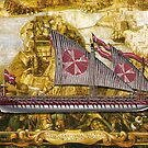 Postcard - Maltese Knights Galley by TheCollectioner